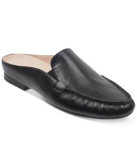Easy Spirit Crellin Mules Women's Shoes Black Leather