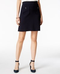 Tommy Hilfiger Pull On A Line Skirt Only At Macy's Navy