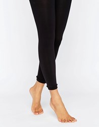 Asos 80 Denier Footless Tights Black