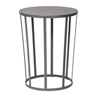 Petite Friture Hollo Stool Side Table Anthracite