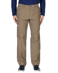 Boss Black Trousers Casual Trousers Men Khaki