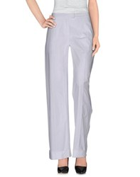 Pianurastudio Trousers Casual Trousers Women White