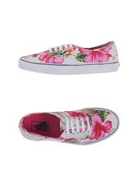 Vans Footwear Low Tops And Trainers Men Fuchsia