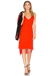 Frankie Slip Dress Red
