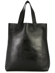 Soulland Shopper Tote Men Leather One Size Black