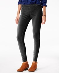 Hue Corduroy Leggings Black