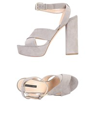 Liviana Conti Sandals Light Grey