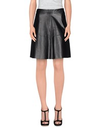 Sportmax Code Knee Length Skirts Black