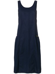 Chinti And Parker Contrast Pocket Sundress Blue