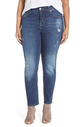 Melissa Mccarthy Seven7 Plus Size Women's Stretch Straight Leg Jeans Largo