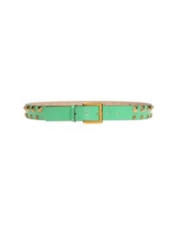 Frankie Morello Belts Light Green