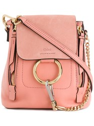 Chloe Faye Mini Backpack Pink And Purple