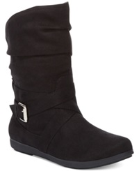 Rampage Cresting Booties Women's Shoes Black