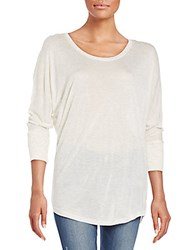 Splendid Sparkle Tunic Top Soft White