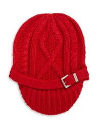 Michael Michael Kors Knit Cap Red