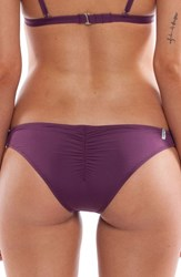 Rhythm Women's My Cheeky Bikini Bottom Plum