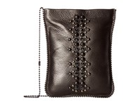 Leather Rock Cp64 Antique Silver Cross Body Handbags