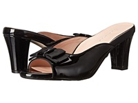 Taryn Rose Fico Black Patent Leather Women's Dress Sandals