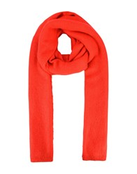 Free People Scarves Red
