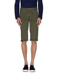Daniele Alessandrini Homme Trousers Bermuda Shorts Men Military Green