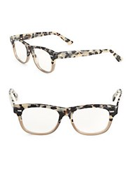 Gucci Havana 48Mm Tortoiseshell Optical Glasses Havana Multi