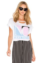 Wildfox Couture No Bad Days Tee White