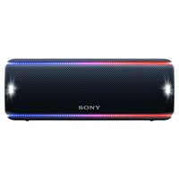 Sony Srs Xb31 Extra Bass Waterproof Bluetooth Nfc Portable Speaker With Led Ring And Strobe Lighting Black