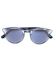 Oliver Peoples Cat Eye Shaped Sunglasses Blue