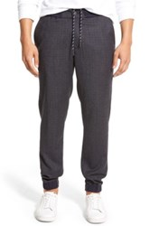 Bonobos Slim Fit Stretch Wool Jogger Pants Blue