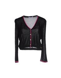 Clips More Knitwear Wrap Cardigans Women Black