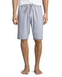 Hanro Night And Day Knit Lounge Shorts Light Gray