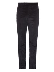 Bottega Veneta Slim Leg Cotton Corduroy Trousers