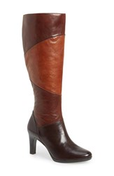 Women's Naturalizer 'Analise' Tall Boot Brown Banana Wide Calf