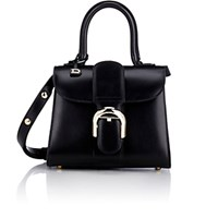 Delvaux Women's Brillant Mini Satchel Black Blue Black Blue