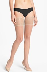 Women's Donna Karan Lace Top Thigh High Stockings