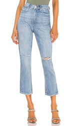 Hudson Jeans Holly High Rise Crop Straight. Destroyed Washed Out