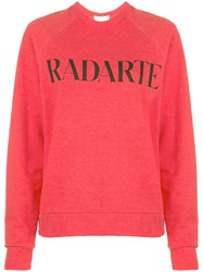 Rodarte Printed Logo Sweater 60