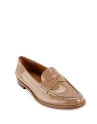 Lauren Ralph Lauren Barrett Patent Leather Loafers Porcini