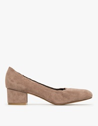 Jeffrey Campbell Bitsie In Taupe Suede