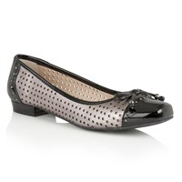 Lotus Keilah Ballet Shoes Pewter