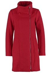 Tom Tailor Short Coat Hollywood Red