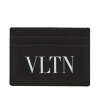 Valentino Vltn Card Holder Black