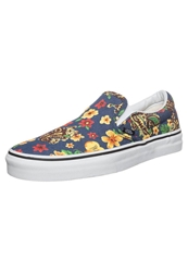 Vans Classic Slipons Aloha Dress Blues Dark Blue