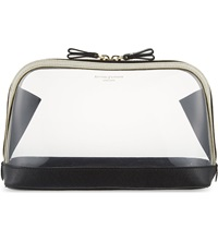 Aspinal Of London Hepburn Large Cosmetic Case Clear