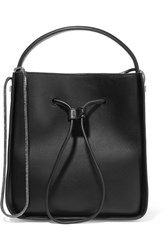 3.1 Phillip Lim Soleil Small Textured Leather Bucket Bag Black