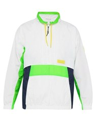 P.A.M. Time Folds Shell Track Top White Multi