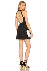 Susana Monaco Backless Fit And Flare 16' Dress Black