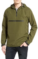 Topman Men's Technical Hooded Anorak