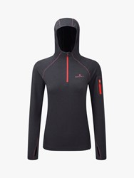 Ronhill Momentum Workout Hoodie Grey