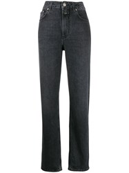 Closed Dean Straight Leg Jeans Grey